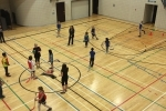 Quidditch game at Eau Claire YMCA