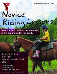 Novice Riding Lessons Fall 2014