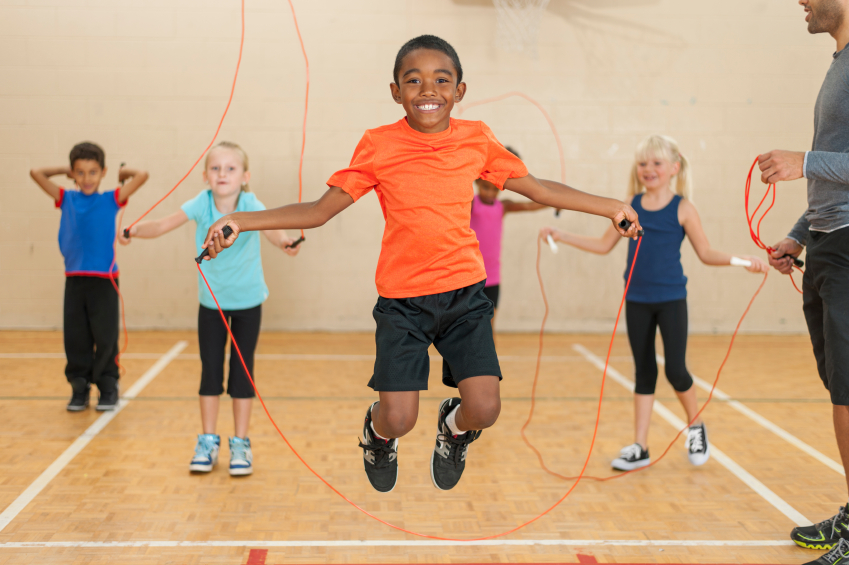 children skipping exercise - photo #4