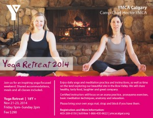 2014 Fall Yoga Retreat Evite