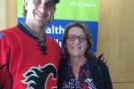 Mikael Backlund and Helene Weir