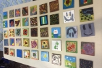 Artwork from crafty Grade 6 members at Eau Claire Y