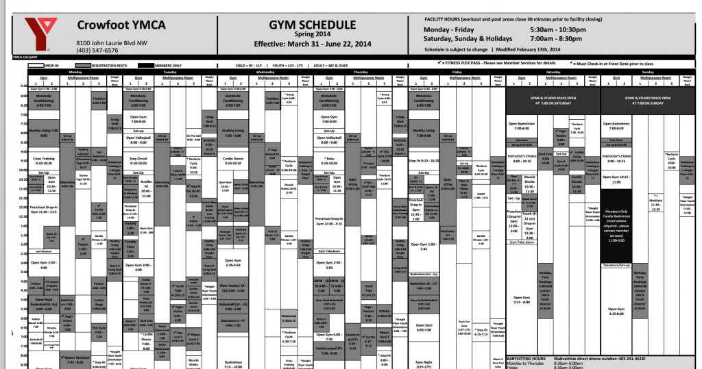 PDF-Schedule-Screenshot-website