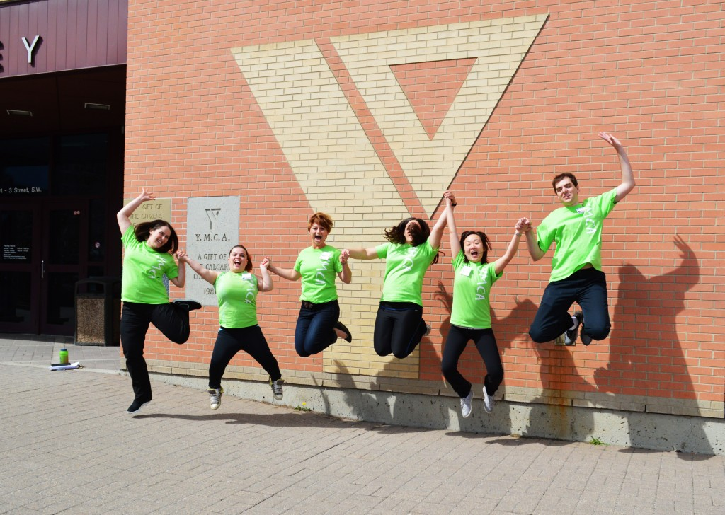Excited YMCA Staff
