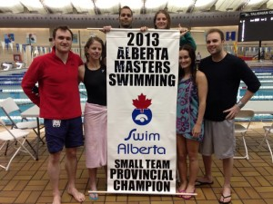 ECY Swim Team 2 Masters Provincials