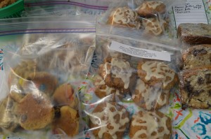Bags of Bake Sale Cookies