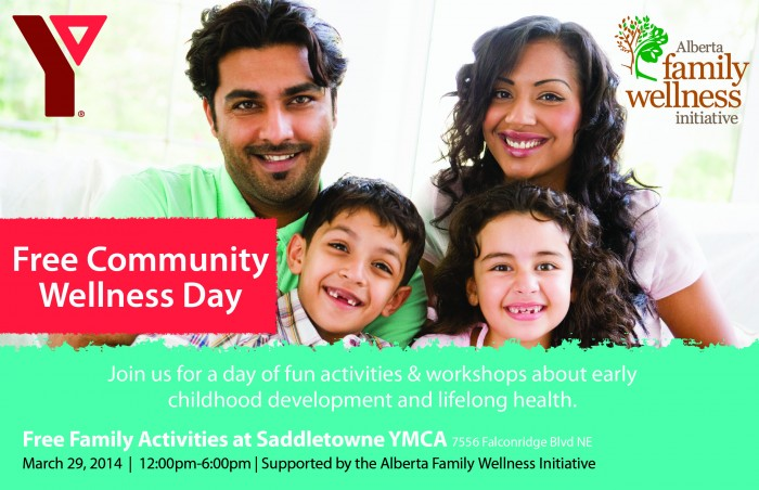 Community Wellness Day Invite